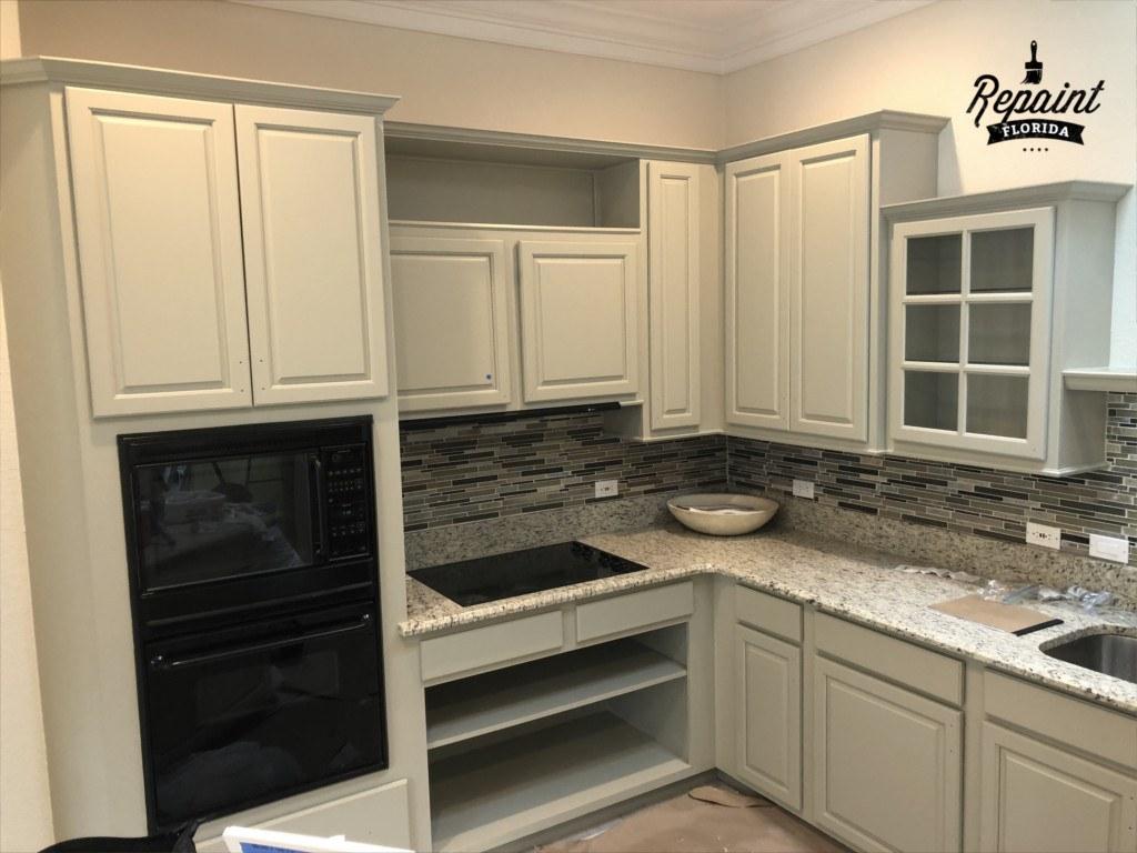 Kitchen Cabinet Remodel In Lake Nona Fl Kitchen Painter
